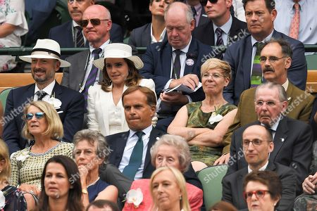 Stock Picture of Emma Watson, John Vosler, Mark Rylance and Claire van Kampen in the Royal Box