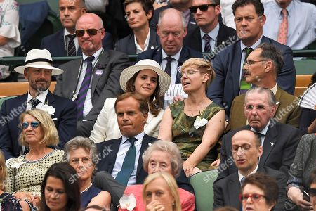 Editorial photo of Wimbledon Tennis Championships, Day 12, The All England Lawn Tennis and Croquet Club, London, UK - 14 Jul 2018