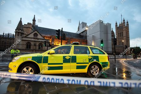 Abingdon Street closed off after road traffic accident, London