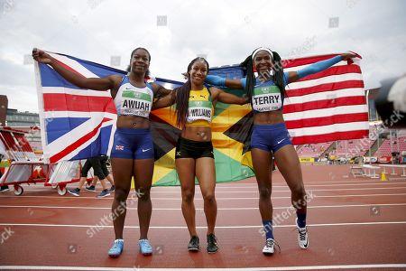 Editorial photo of IAAF U20 World Championships, Day 3, Tampere, Finland - 12 Jul 2018