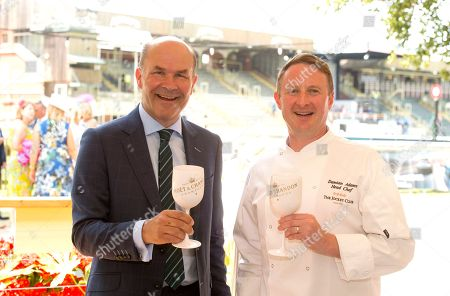 Neil Phillips, The Wine Tipster and Damian Adams Head Chef of The Jockey Club