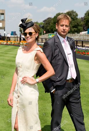 ITV racing presenters Francesca Cumani and Ed Chamberlin