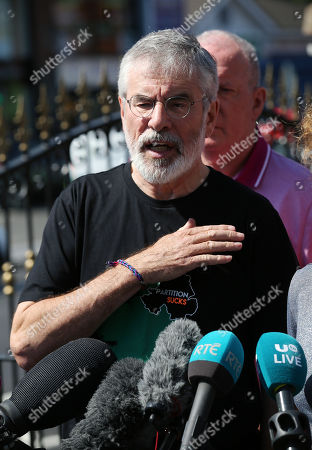 Gerry Adams Home Attack press conference, Belfast