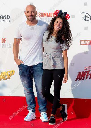 Franck Gastambide and Sabrina Ouazani