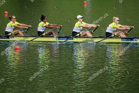 Editorial picture of 2018 World Rowing Cup in Lucerne, Switzerland - 15 Jul 2018