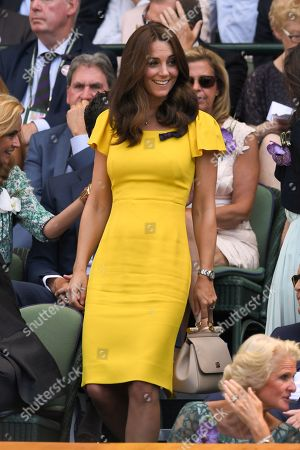 Catherine Duchess of Cambridge in the Royal Box