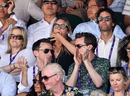 Kate Winslet whistling on Centre Court