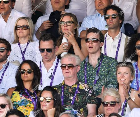 Kate Winslet and Chris Evans on Centre Court