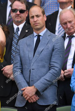 Prince William in the Royal Box