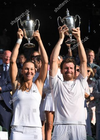 Editorial image of Wimbledon Tennis Championships, Day 13, The All England Lawn Tennis and Croquet Club, London, UK - 15 Jul 2018