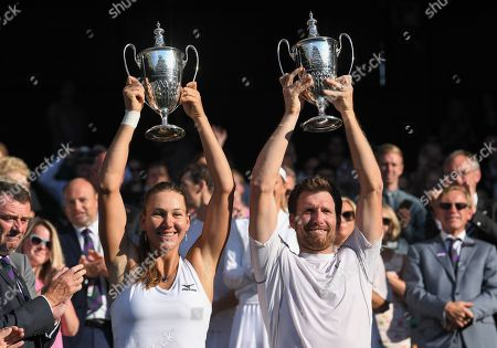 Editorial picture of Wimbledon Tennis Championships, Day 13, The All England Lawn Tennis and Croquet Club, London, UK - 15 Jul 2018