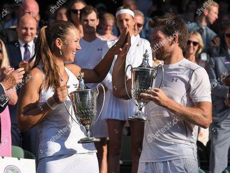 Editorial photo of Wimbledon Tennis Championships, Day 13, The All England Lawn Tennis and Croquet Club, London, UK - 15 Jul 2018