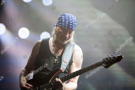 Roger Glover the bassist of Deep Purple
