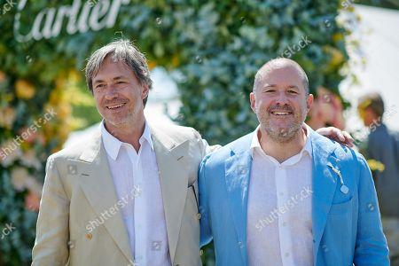 Marc Newson and Jonathan Ive
