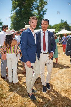 Ryan Barrett and Staz Nair