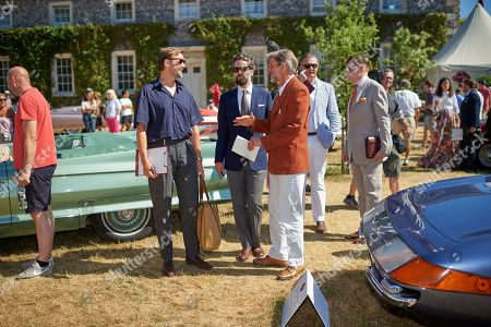 Editorial picture of Goodwood Festival of Speed, 'Cartier Style Et Luxe' enclosure, West Sussex, UK - 15 Jul 2018