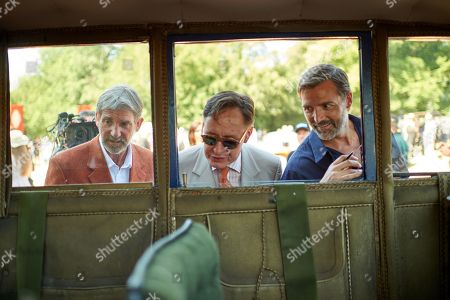 Peter Russell, Nick Folks and Patrick Grant
