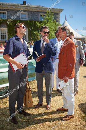 Patrick Grant, Jack Guinness and Peter Russell
