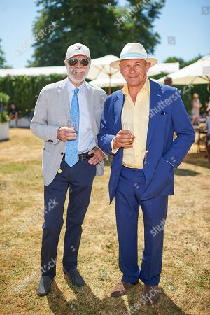 Editorial photo of Goodwood Festival of Speed, 'Cartier Style Et Luxe' enclosure, West Sussex, UK - 15 Jul 2018