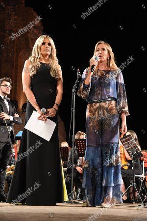 Stock Photo of L'on. Stefania Prestigiacomo with Tiziana Rocca