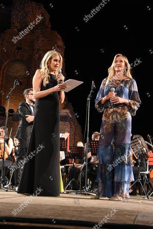 Editorial photo of Cinematographic Nations Award Evening, Taormina, Italy - 13 Jul 2018