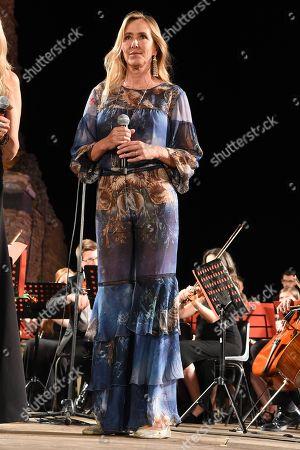 L'on. Stefania Prestigiacomo with Tiziana Rocca