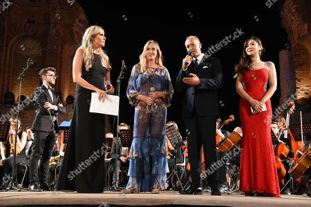 Editorial picture of Cinematographic Nations Award Evening, Taormina, Italy - 13 Jul 2018