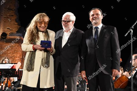 Editorial photo of Cinematographic Nations Award Evening, Taormina, Italy - 13 Jul 2018