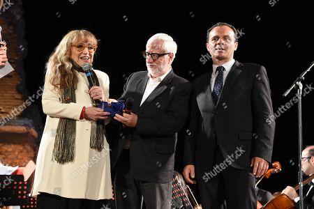 Editorial image of Cinematographic Nations Award Evening, Taormina, Italy - 13 Jul 2018