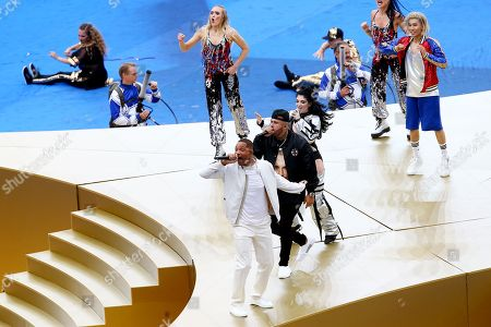 Will Smith, Nicky Jam and Era Istrefi perform at the Closing ceremony