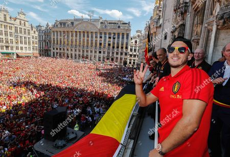 Belgium football team welcome home ceremony, Brussels