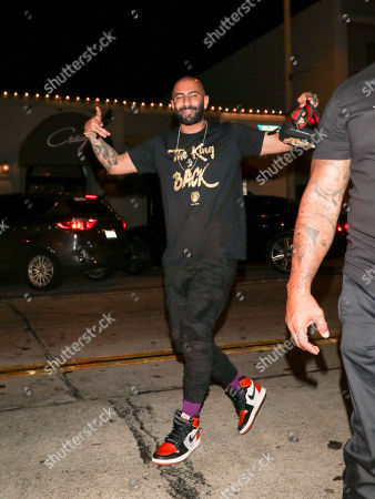 Editorial photo of Yousef Erakat out and about, Los Angeles, USA - 14 Jul 2018