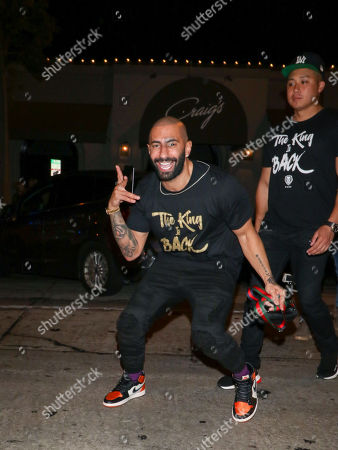 Editorial picture of Yousef Erakat out and about, Los Angeles, USA - 14 Jul 2018