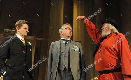 Charles Edwards (King Magnus), James Laurenson (Proteus) and Barry Stanton (Boanerges)