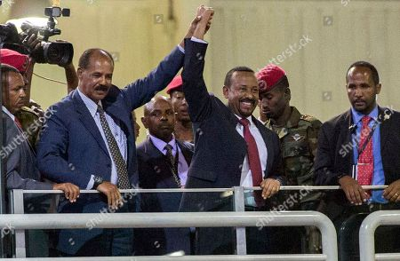 Eritrean President Isaias Afwerki visit to Ethiopia