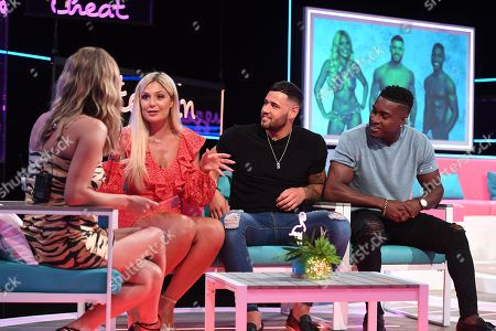 Editorial photo of 'Love Island: Aftersun' TV Show, Series 4, Episode 6, London, UK - 15 Jul 2018