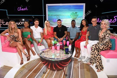 Editorial image of 'Love Island: Aftersun' TV Show, Series 4, Episode 6, London, UK - 15 Jul 2018