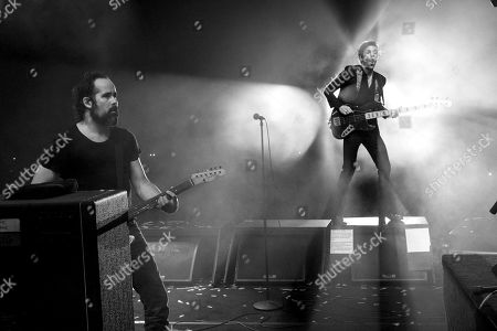 The Killers - Ronnie Vannucci Jr. and Brandon Flowers