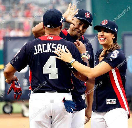 Bernie Williams, Jessica Mendoza and Chris Jackson