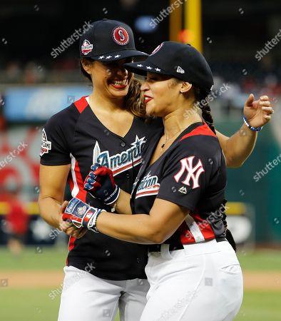 Dascha Polanco and Jessica Mendoza
