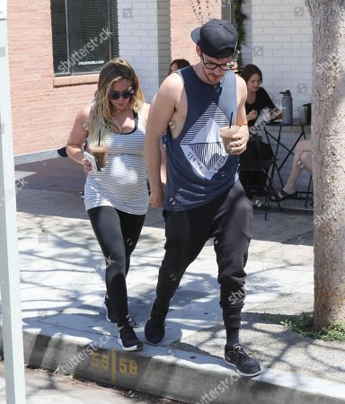 Stock Picture of Hilary Duff and Matthew Koma