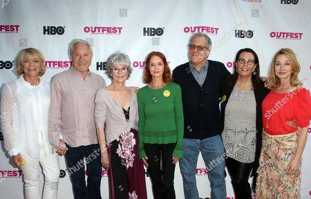 Stock Photo of Stephanie Faracy, Jeffrey Richman, Rita Moreno, Swoosie Kurtz, Jeff Kaufman, Marcia Ross, Sharon Lawrence
