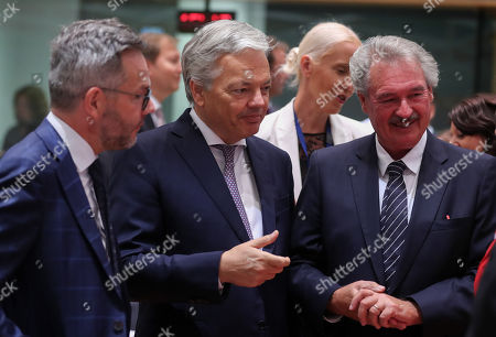 Editorial image of EU Foreign Affairs Council meeting, Brussels, Belgium - 16 Jul 2018
