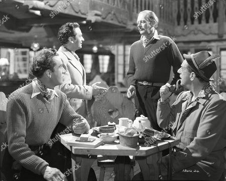 Dennis Price (Blair), Marcel Dalio (Valdini), Guy Middleton (Mayne), Stanley Holloway (Wesson)