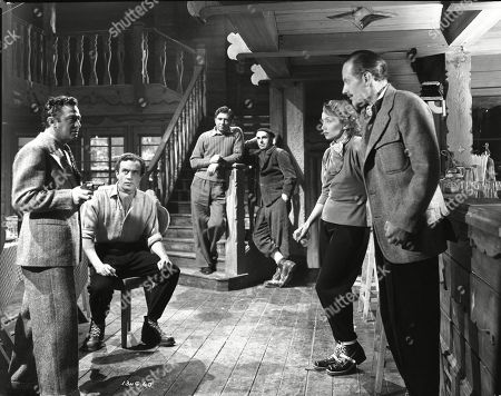 Marcel Dalio (Valdini), Dennis Price (Blair), Robert Newton (Engles), Willy Fueter (Aldo), Mila Parely (Carla), Guy Middleton (Mayne)