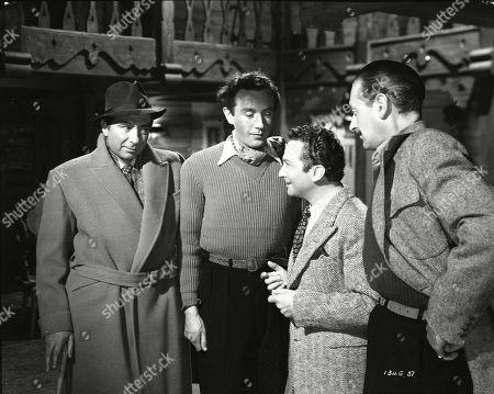 Robert Newton (Engles), Dennis Price (Blair), Marcel Dalio (Valdini), Guy Middleton (Mayne)