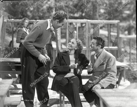 Dennis Price (Blair), Mila Parely (Carla), Marcel Dalio (Valdini)