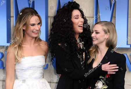 'Mamma Mia! Here We Go Again' film premiere, London