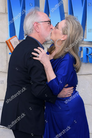 Meryl Streep and Gary Goetzman