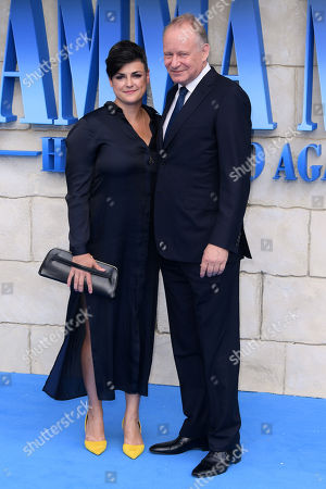 Stellan Skarsgard and Megan Everett